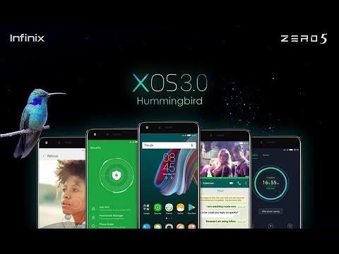 Infinix Android 8.1 Oreo + XOS 3 Hummingbird update